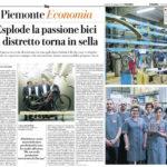 Articolo la Repubblica Cuneo Bici